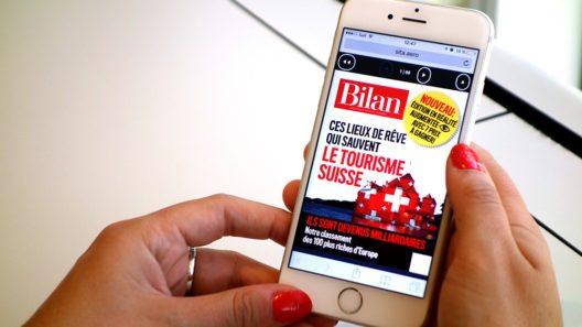SWISS e-media – das neue digitale Unterhaltungsangebot gegen Langeweile am Airport. (Bild: © SWISS)