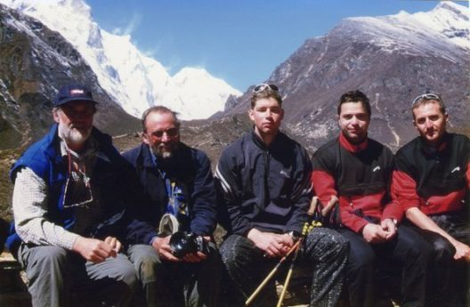 Langjährige Freundschaft: Wolfgang Naiz und Benni Raich in Nepal (Bild: © TVB Pitztal)