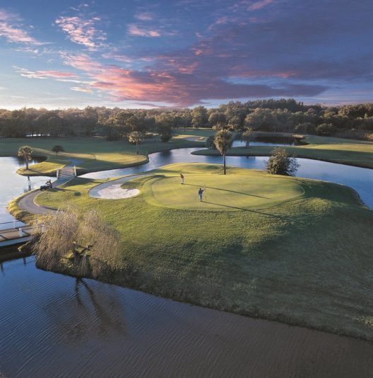 Bereits seit dem Jahr 2000 wird in der Anlage einmal jährlich die prestigeträchtige PGA-Tour gespielt.