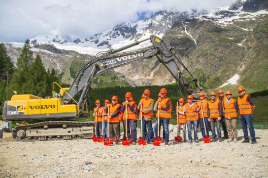 Gruppenbild Verantwortliche Speilbodenbahn (Bild: Saastal Marketing)