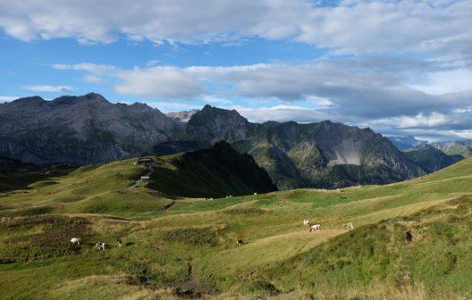 Lechquellenrunde: Biberacher Hütte (Bild: Dehler/Bregenzerwald Tourismus)