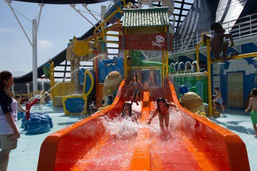 Ganz auf Familien mit Kindern ist man bei MSC Cruises eingestellt. (Bild: © MSC Cruises)