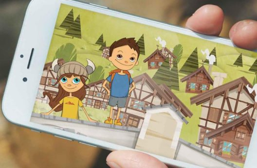 Neue Kinder-App mit Turba und Tschepp