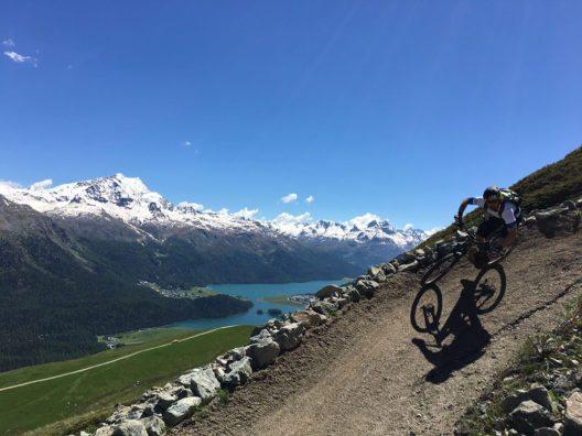 """Die """"Rocky Mountain Trail Games"""" erleben dieses Jahr in St. Moritz ihre Premiere. (Bild: © Engadin St. Moritz Mountains AG)"""
