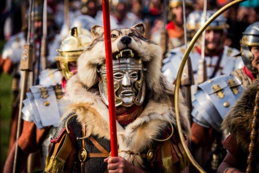 Legionäre dürfen auf dem Römerfest nicht fehlen. (Bild: Pieknikphoto)