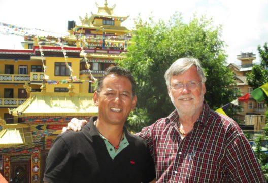 Tashi Tenzing und Wolfgang Nairz (Bild: Tourismusverband Pitztal)