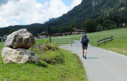 Fabian Pimminger will die gesamten 24 Tagesetappen in einer rund dreieinhalbwöchigen Tour bewältigen. (Bild: Tirol Werbung / Manuela Mörtenbäck)
