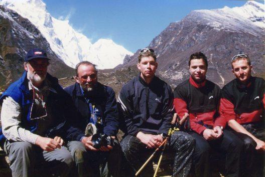 Wolfgang Nairz und Benni Raich in Nepal (Bild: Tourismusverband Pitztal)