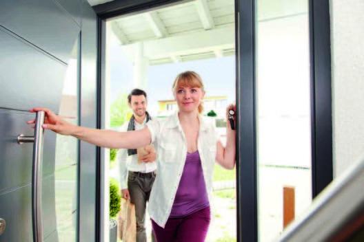Zutritt ins Haus (Bild: © Telenot Electronic GmbH)
