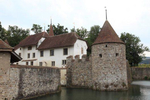 Schloss Hallwyl im Aargau (Bild: ecke61 – Shutterstock.com)