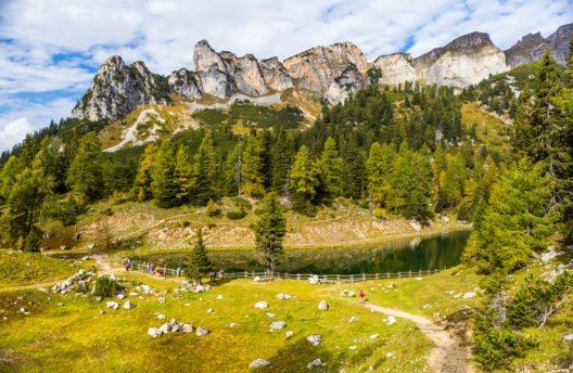 Das Achensee-Gebiet ist ein Wanderparadies. (Bild: Raymond Thill – Shutterstock.com)