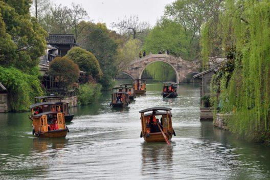 Wucun befindet sich am Kaiserkanal zwischen Peking und Hangzhou. (Bild: astudio – Shutterstock.com)