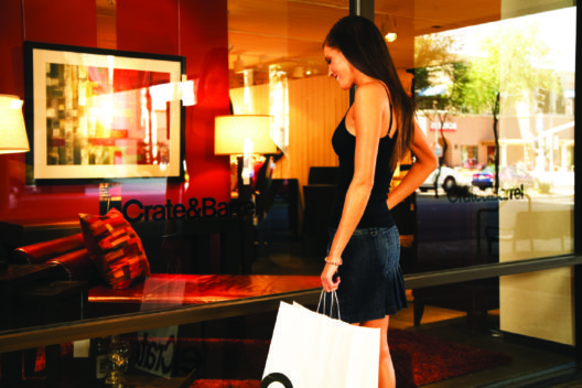 C&B Window Shopping (Bild: © Scottsdale Convention & Visitors Bureau)