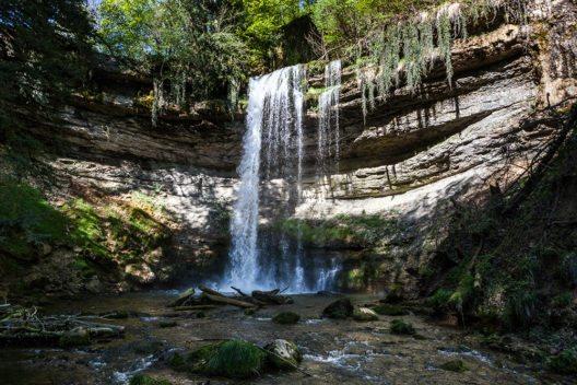 Der Nozon ist ein rund 22 km langer rechter Nebenfluss des Talent im Kanton Waadt der Schweiz. (Bild: © WWF Schweiz)