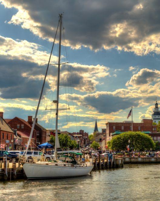"""Amerikas Segelhauptstadt"" Annapolis (Bild: © Media Robert Peterson)"