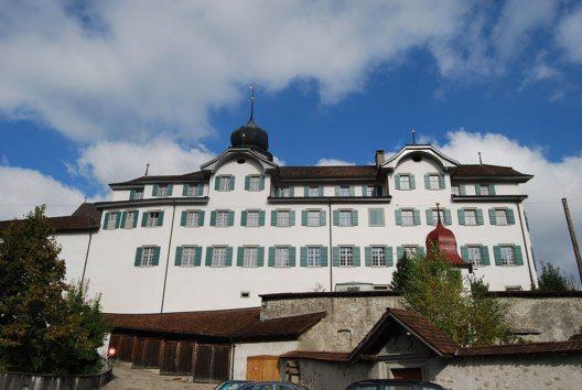 Kloster und Kirche von Werthenstein (Bild: DidiWeidmann, Wikimedia, GNU)