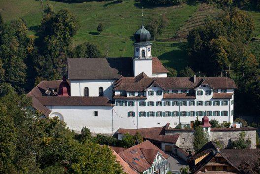 Nach wie vor ist die Wallfahrtskirche von Werthenstein ein bedeutendes Ziel für die Pilger. (Bild: Roland Zumbuehl, Wikimedia, CC)