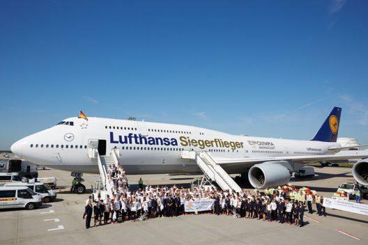 Ankunft Olympia Mannschaft. Frankfurt, den 23.08.2016 (Bild: © Deutsche Lufthansa AG)