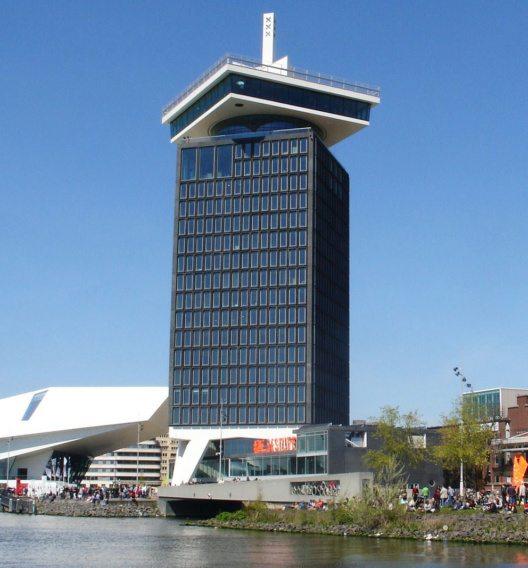 Der A'DAM Tower bietet fantastische Aussichten auf Amsterdam. (Bild: Marion Golsteijn, Wikimedia, CC)