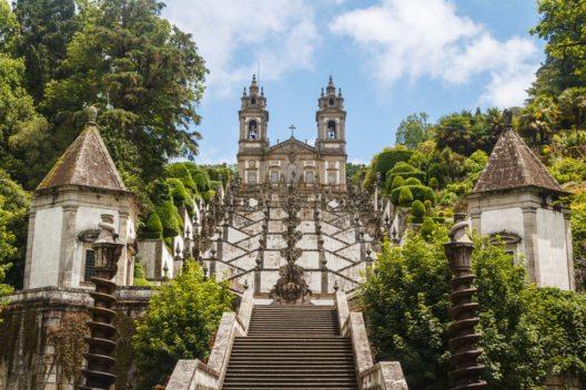 Bom Jesus Kirche in Braga, Portugal (Bild: TUI)