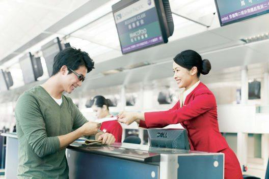 Cathay Pacific erhöht die Freigepäckgrenze. (Bild: © Cathay Pacific Airways)