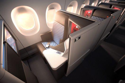 Delta Airlines bietet Business Class-Passagieren ab Herbst 2017 eigene Suiten beim Fliegen. (Bild: © Delta Airlines)