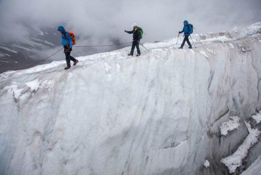 Dem Pitztaler Gletscher auf der Spur (Bild: Chris Walch/TVB Pitztal)