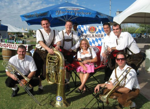 Oktoberfest in Tempe, Aubachtal Sextett aus Regensburg (Bild: Arizona Office of Tourism)