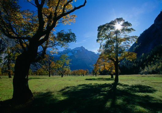 Herbst im Großen Ahornboden, Karwendel, Tirol
