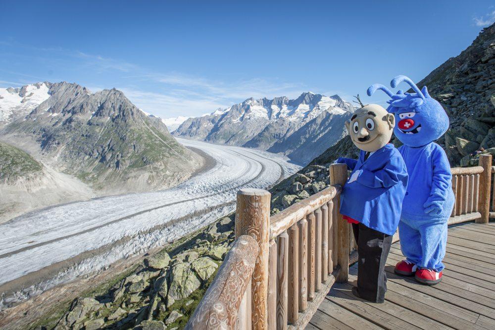 Papa Moll trifft Gletschi