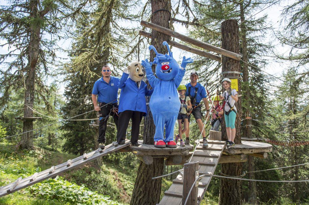 Coole Abenteuer mit Gletschi in der Aletsch Arena erleben
