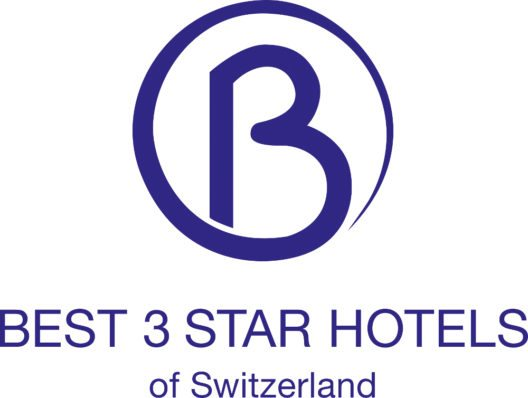 """BEST 3 STAR HOTELS of Switzerland""- Logo (Bild: APART AG)"