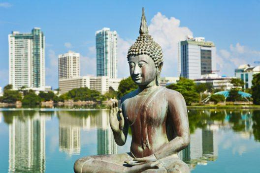 Seema Malaka Tempel in Colombo (Bild: Jaromir Chalabala – Shutterstock.com)
