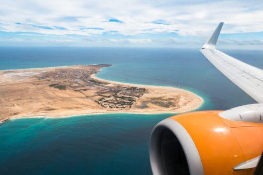 Luftaufnahme von Santa Maria in Sal Island Kap Verde (Bild: © Samuel Borges Photography - shutterstock.com)