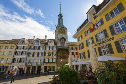 Die Altstadt von Solothurn (Bild: marekusz – Shutterstock.com)