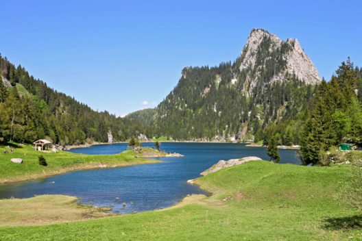 Lac de Taney, Wallis (Bild: © Evgeny Murtola - shutterstock.com)