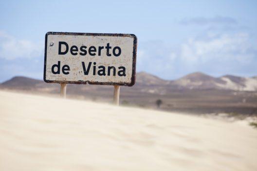 Sanddünen der Wüste in Boa Vista, Kap Verde (Bild: © Sabino Parente - shutterstock.com)