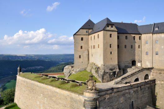 Festung Königstein, Sachsen (Bild: © Alberto Loyo - shutterstock.com)
