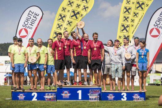 Siegerehrung Teamwettbewerb (Bild: Fuschlsee Tourismus GmbH / Tourismusverband Thalgau)