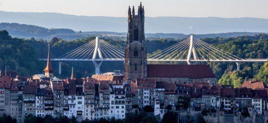 Poya Brücke in Fribourg (Bild: © Fribourg Region)