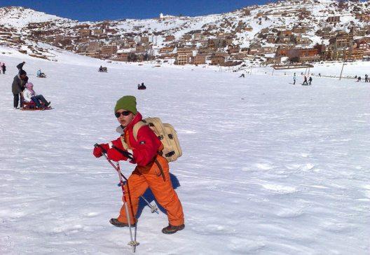 Oukaimeden – eines der höchsten Skigebiete Afrikas. (Bild: hibatallah Badreddine, Wikimedia, GNU)