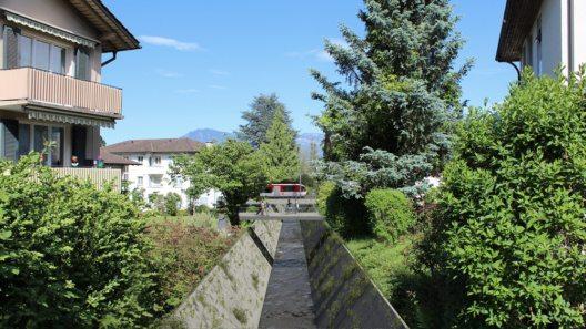 Feldbach (Bild: Doppelspurausbau Hergiswil)