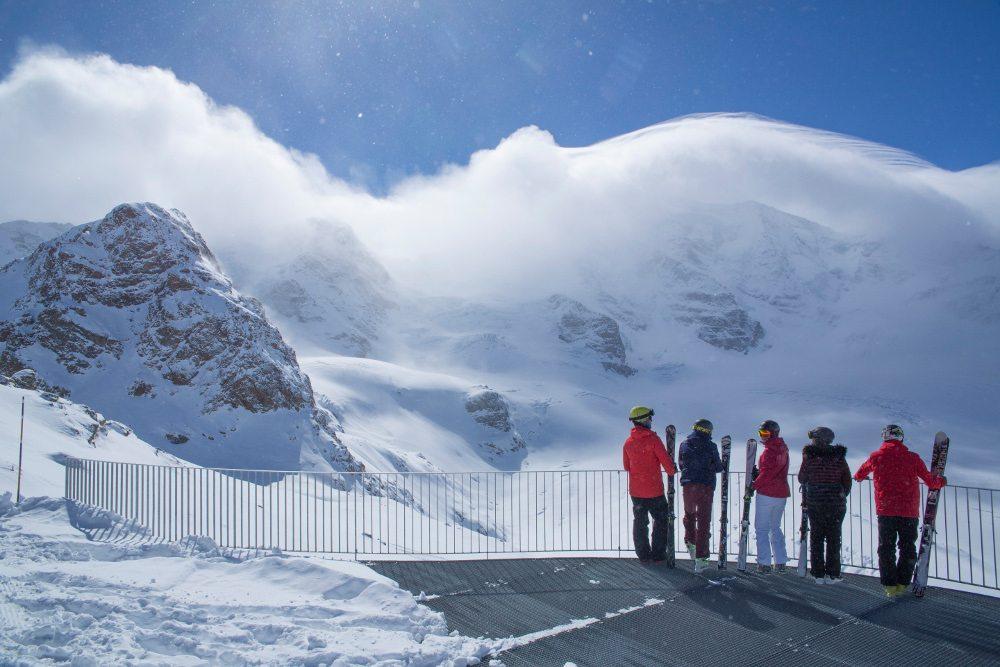 Engadin St. Moritz: Sonnenplaetze auf der Diavolezza (Bild: ENGADIN St. Moritz / swiss-image.ch / Christof Sonderegger)