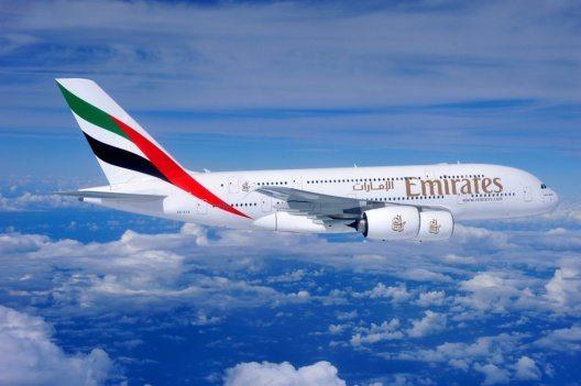 Emirates Airbus A380 (Bild: © Emirates)