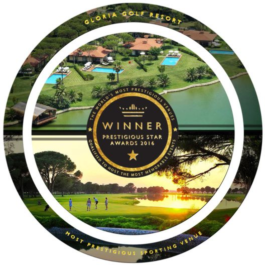 Gloria Golf Resort - Prestigious Star Awards 2016