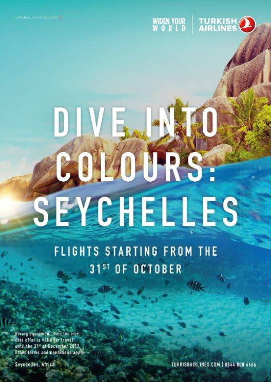 Turkish Airlines steuert jetzt auch die Seychellen an. (Bild: © PRNewsFoto/Turkish Airlines)