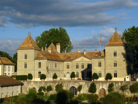 Schloss Prangins (Bild: © mihai-bogdan-lazar - shutterstock.com)