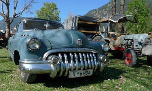 Nostalgische Fahrzeuge stehen im Mittelpunkt des Festwochenendes (Bild: © Achensee Tourismus)