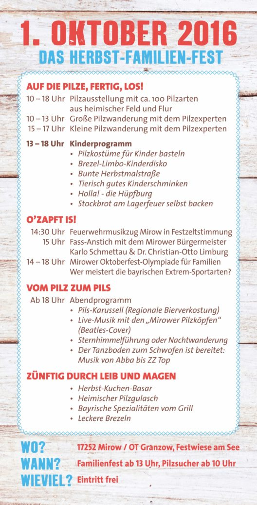 pilzfestprogramm