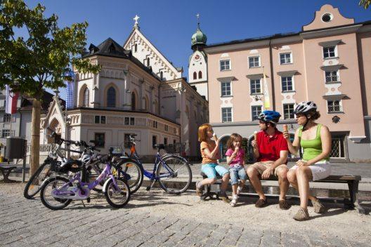 Radpause in Rosenheim (Bild: Chiemsee-Alpenland Tourismus GmbH&Co.KG)
